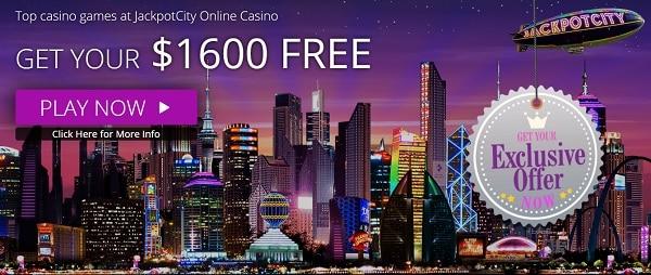 $1600 free play bonus