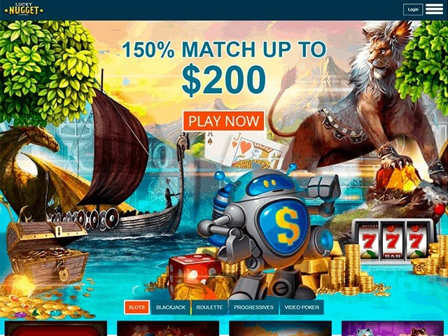 Lucky Nugget Casino by Microgaming