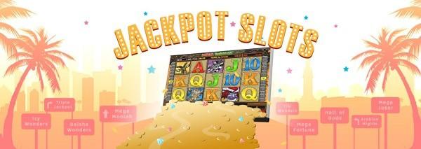 Play the best progressive jackpot slots!