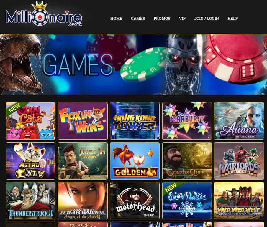 Millionaire.co.uk Casino