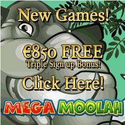Aztec Riches Casino 100 free spins & €850 free bonus on jackpots