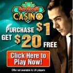 Nostalgia Casino - 20 free spins and 2000% free bonus on 1st deposit