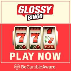 Glossy Bingo Casino   50 Free Spins plus 300% Bonus   Free Play Slots