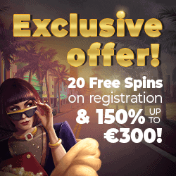 20 Exclusive Free Spins to Sieger!