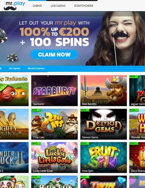 Mr.Play Casino Online