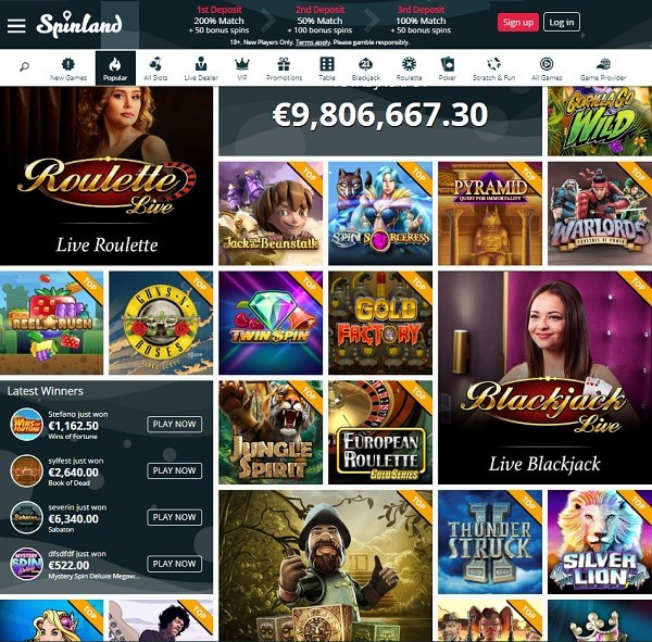 Spinland Casino Full Review