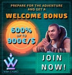 Wira Casino™ (Direx NV, SoftSwiss) - free bonus money & free spins