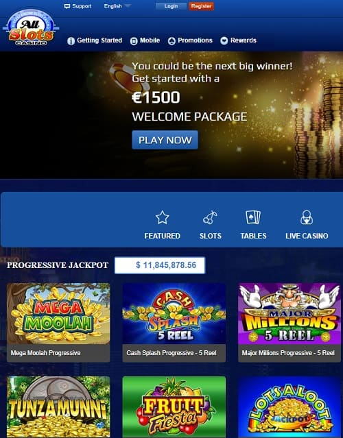 1500 EUR/USD bonus and 50 free spins in welcome offer!