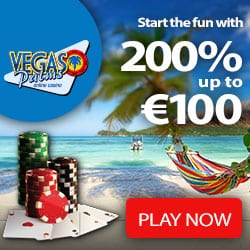 Vegas Palms Casino 200 free spins + 200% bonus up to €100