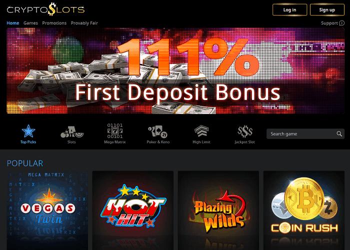 Crypto Slots Casino USA