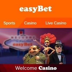 Easybet Casino 250% up to €700 bonus and 100 free spins