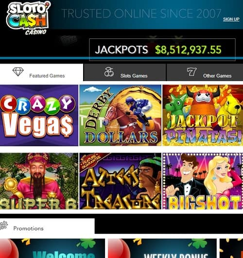 Slotocash Casino Free Chips