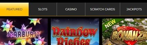 MobileWins.co.uk slots, table games, live dealer