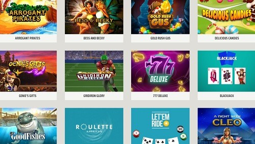 USA Casino games and software