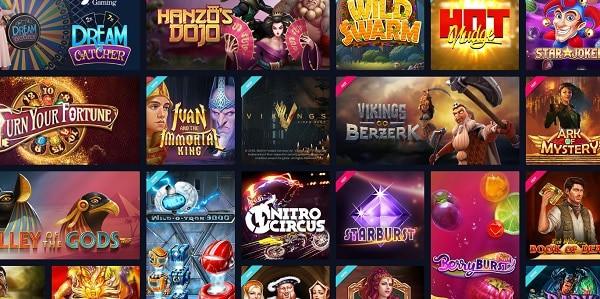 VegasCasino.com free games