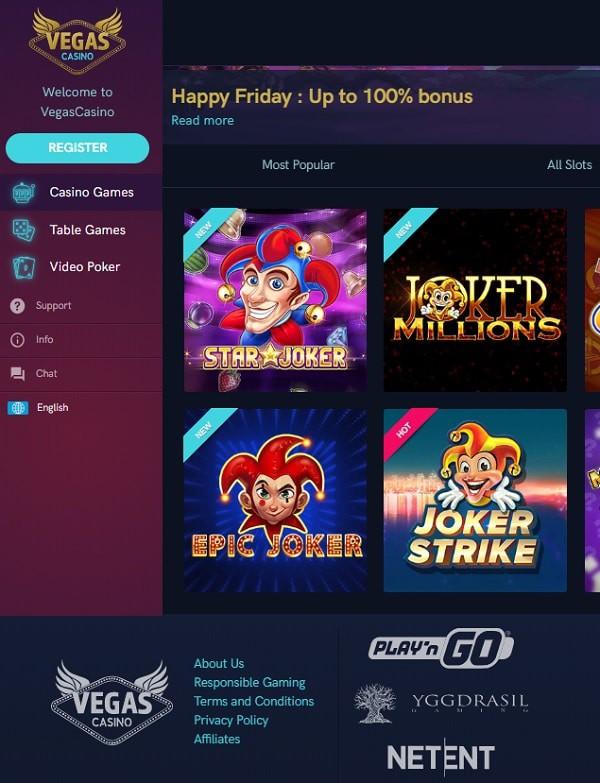 VegasCasino.com review
