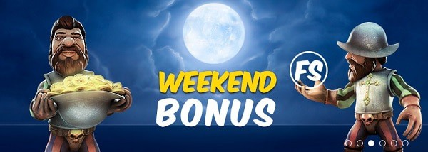 Hotline Casino weekend bonus