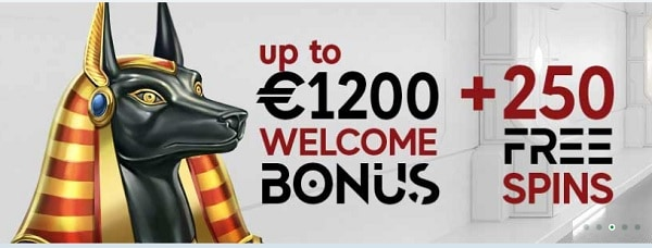 GoPro Casino 250 gratis spins and 1,200 EUR free cash bonus