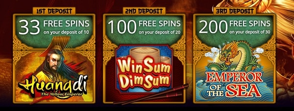 333 free spins welcome bonus
