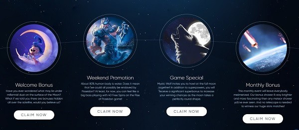Exclusive Bonuses and Promotions to RTG Casino (ECLIPSE)
