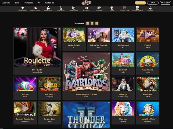 Jackpot Village Online Casino Free Bonus