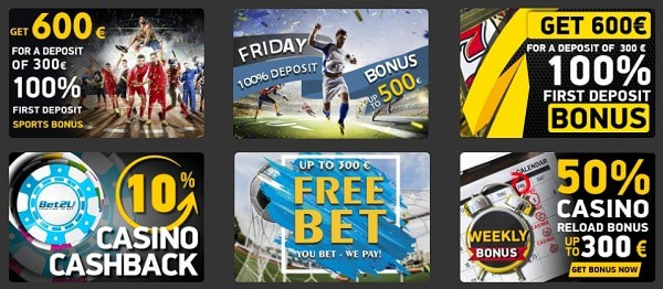 Welcome Offer, Free Spins, Free Bets, Reload Bonuses