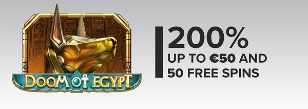 Legolasbet casino 200% bonus and 50 free spins