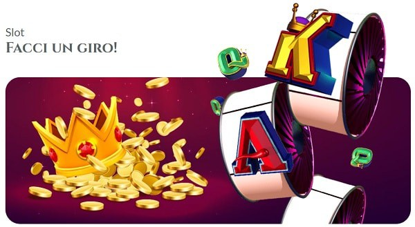 Voglia di Vincere Casino Italia free spins bonus
