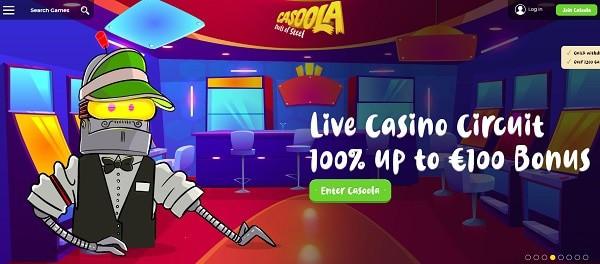 100% Live Dealer Bonus
