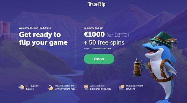 1000 euro welcome bonus or 1 BTC free money