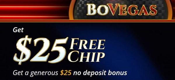Vegas Casino $25 Free Chip Exclusive Bonus