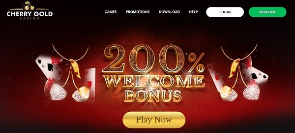 200% welcome offer + 20 free spins + $50 Free Chip