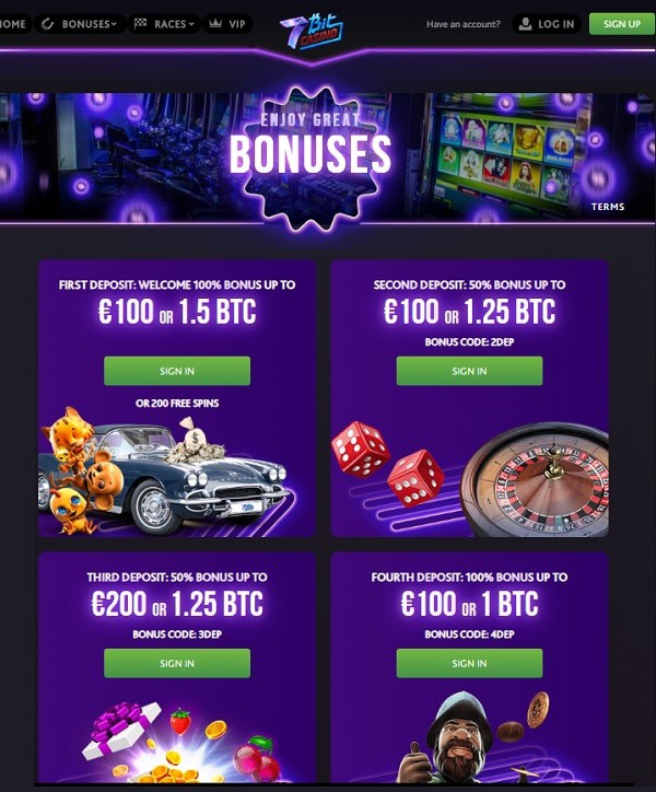 5 BTC and 200 freespins up for grabs