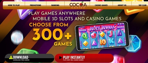 Play New Casino Games at Cocoa!
