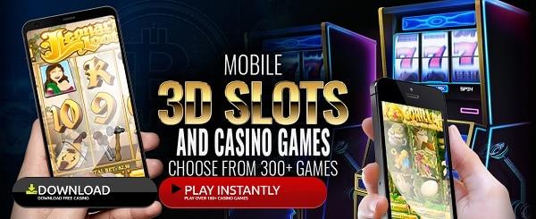 3 Slot Machines, Roulette, Blackjack, Baccarat, Live Dealer