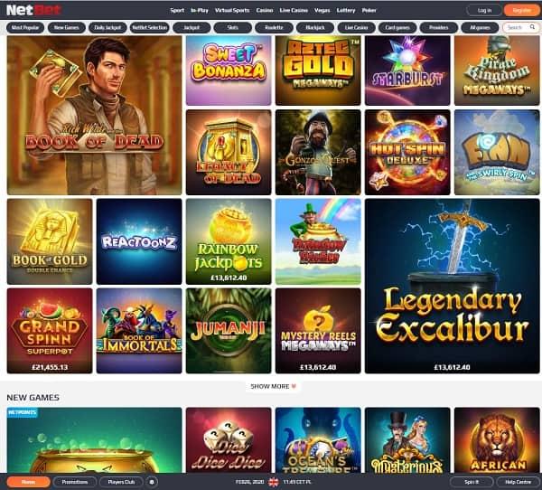 NetBet Casino Full Review