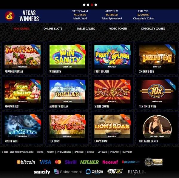 This Is Vegas Casino Online Website