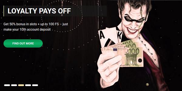 1xSlots Casino VIP Bonus