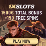 1xSlots Casino [register & login] 150 free spins + €1500 bonus