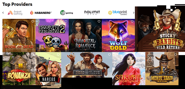 Top Online Games and Providers at AllReels.com