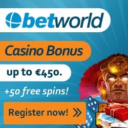 Betworld Casino banner new