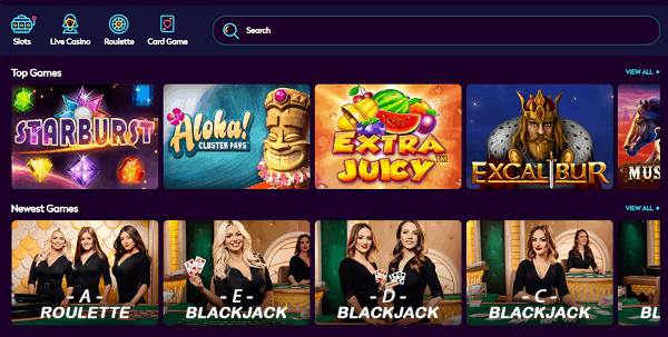 Slots and Table Games with Free Bonuses