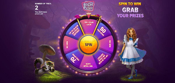RichPrize free spins