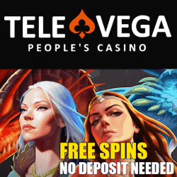 TeleVega Casino 25 FS NDB new