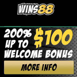 200% welcome bonus up to $100