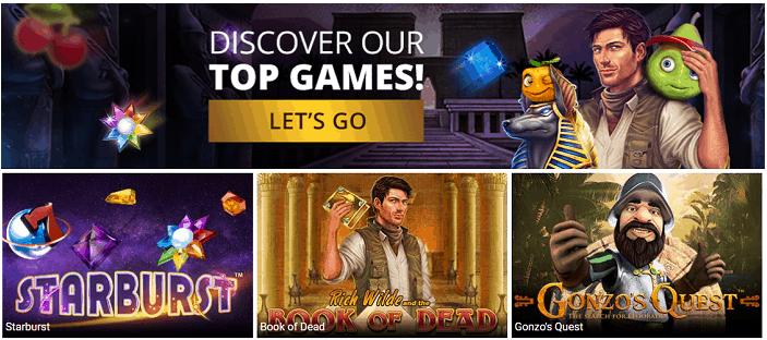 Discover Top Casino Games