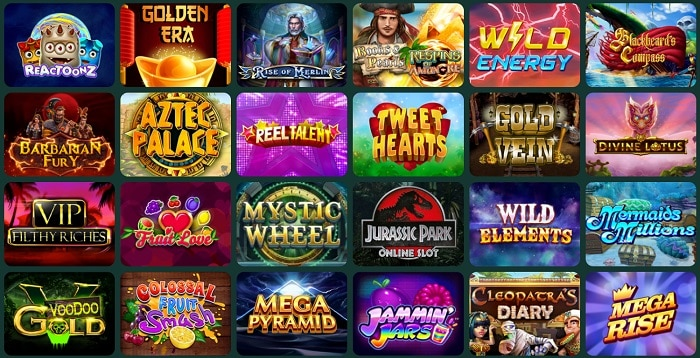 Casino Games and Software