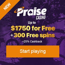 300 free spins and $1750 welcome bonus