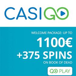 CasiGO bonus banner