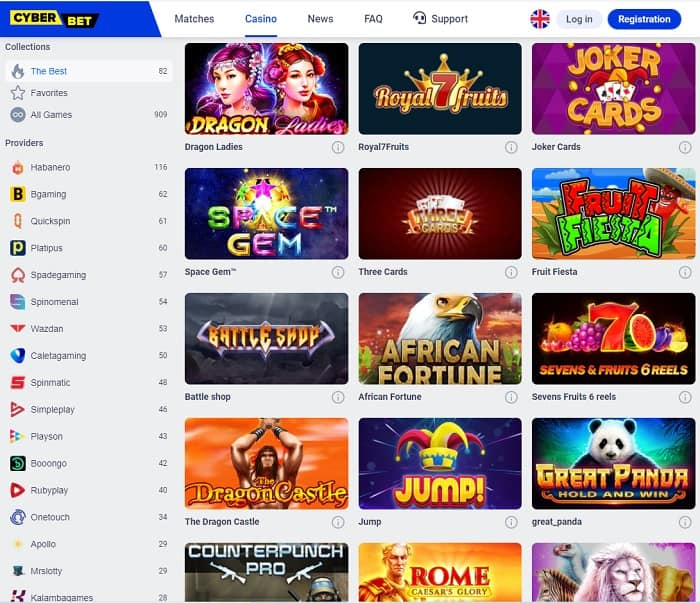 Cyber Bet Free Spins